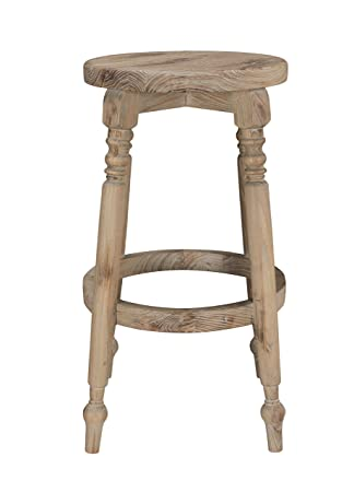 Amazon.com: Benjara BM195662 taburete de madera de 30 ...