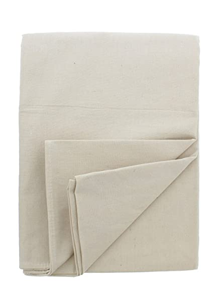 Abn Painters Cotton Canvas Paint Drop Cloth Medium 6 X 9 Foot