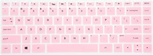 LEZE - Keyboard Cover Compatible with HP Pavilion x360 2-in-1 14M-BA 14M-BA011DX,14M-BF 14-BF050WM,14M-DW0013DX,14M-DW0023DX,14M-BW 14-BW065BR 14-DS0050NR 14-DS0060NR 14-DK1003DX Laptop - Pink