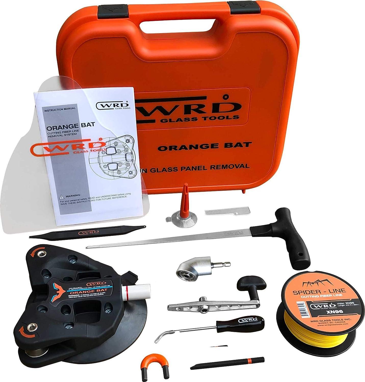 Black Bat Kit 300W WRD OB 300W Orange Bat in Black Version AutoGlass Windscreen Fiber line Wire Removal Tool Best Windshield Removing Tool Around The World