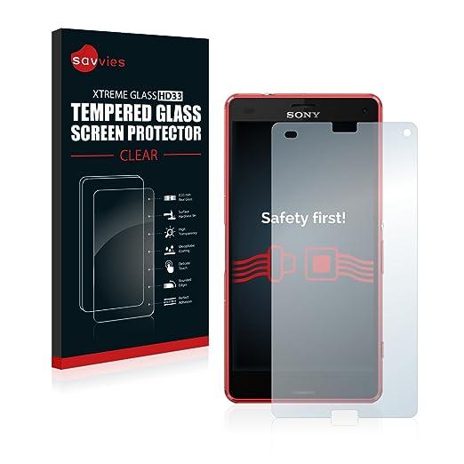 36 opinioni per Savvies Vetro Sony Xperia Z3 Compact D5803 Pellicola Vetro Temperato, Vetro