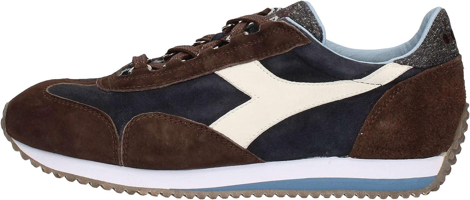 Diadora Heritage Equipe Evo II Sneakers Uomo Blu Corsair art.60063 TG. 40