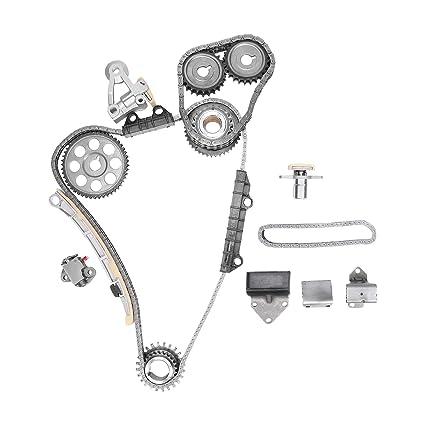 BLACKHORSE-RACING Engine Timing Chain Kit Set for Suzuki Grand Vitara XL-7 2.5