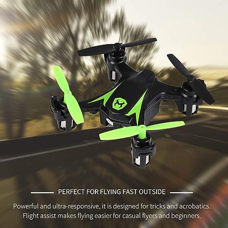 Lorenlli 2.4 Ghz 4CH RC Mini Drone Control remoto Helicóptero ...