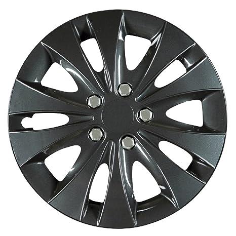 Universal tapacubos radzierblenden energy negro 14 pulgadas modelos VW