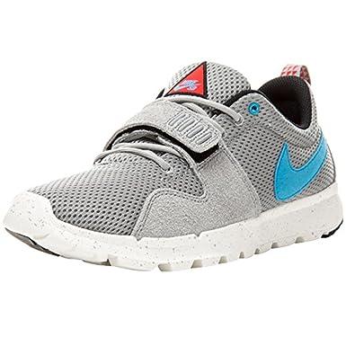 e9fa61ca8716 Nike SB Trainerendor Shoe - Base Grey/Vivid Blue: Amazon.co.uk: Clothing