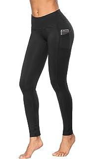 1a73a2ba00 Amazon.com  ODODOS High Waist Out Pocket Yoga Pants Tummy Control ...