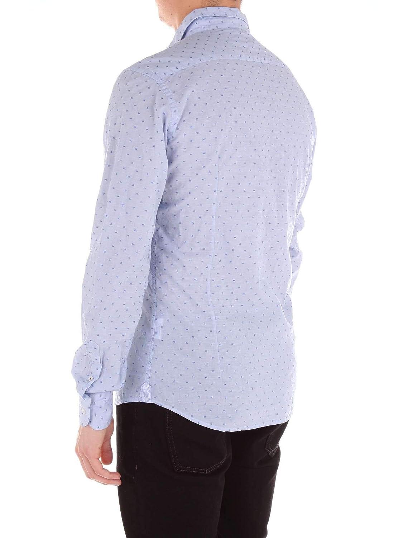 INDIVIDUAL Luxury Fashion Mens Shirt Spring Turquoise