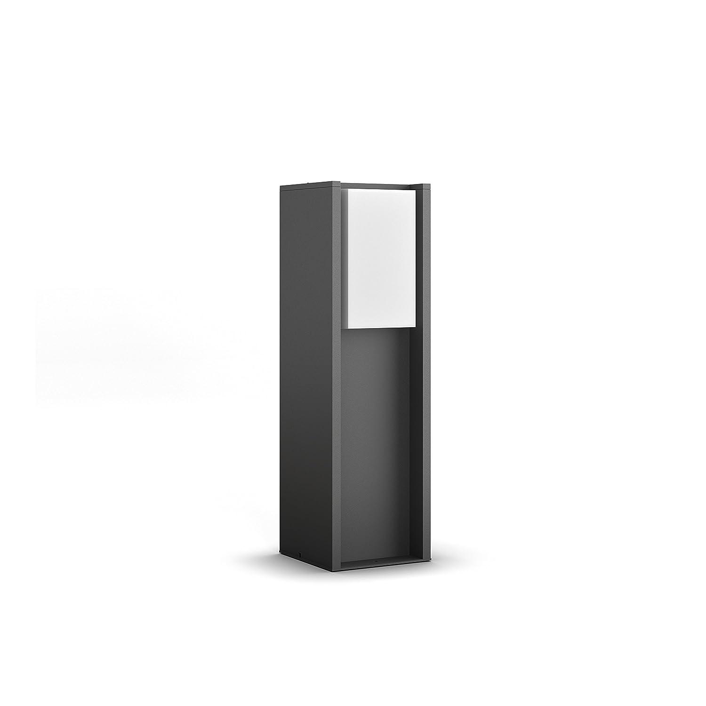 Philips Hue LED Wandleuchte Turaco für den Aussenbereich, dimmbar, warmweißes Licht, steuerbar via App, kompatibel mit Amazon Alexa (Echo, Echo Dot) warmweißes Licht 915003761403