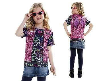 Disfraz Camiseta de Rapero Original de Carnaval para niña de 8-10 años de  Microfibra c93385a02ee