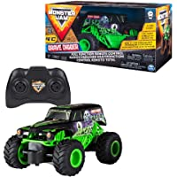 Spin Master Gravedigger Monster Jam RC-Camión de Escalas