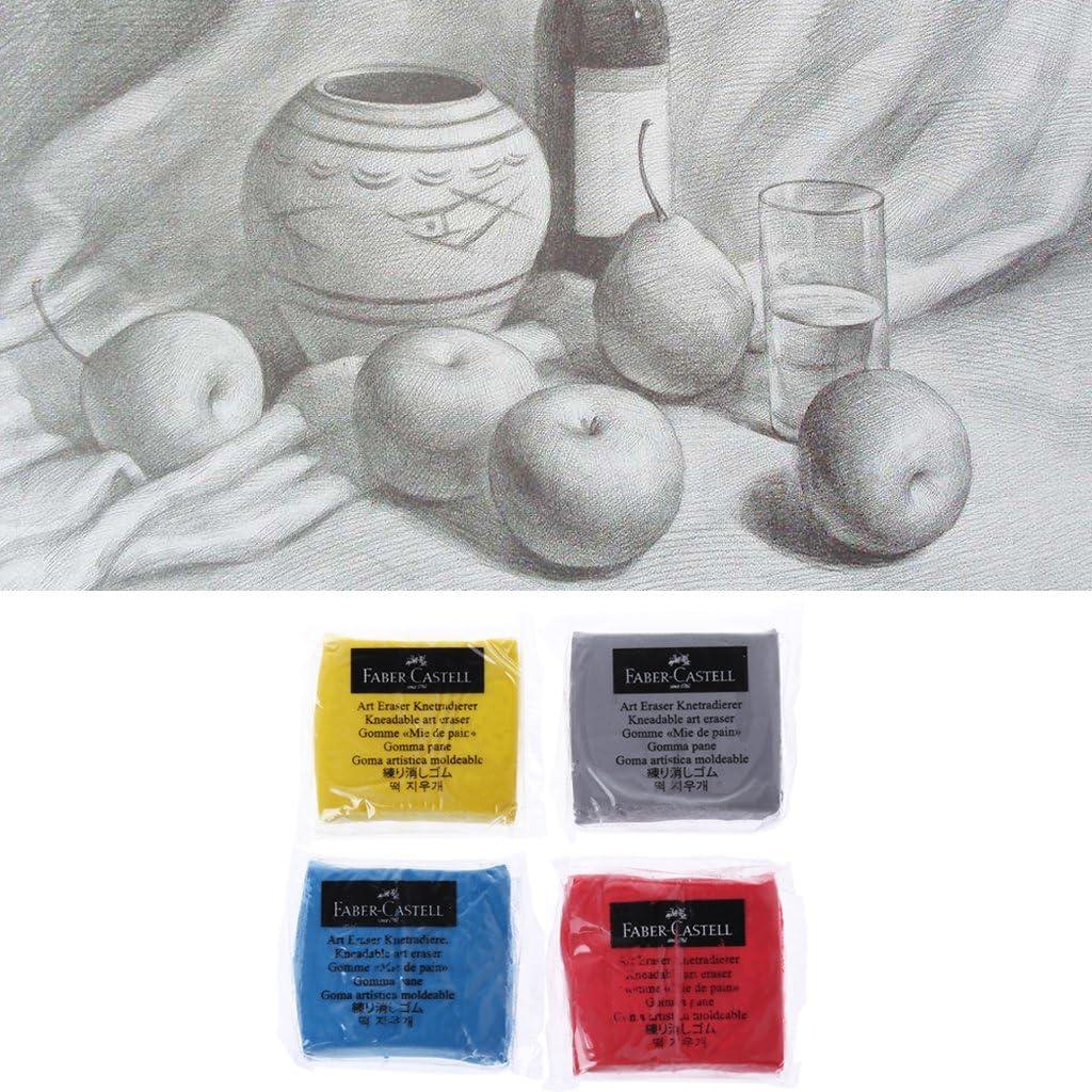 FlYHIGH Art en Caoutchouc petrir Sketch Drawing Effaceur Crayon Pastel Crayon Plastique