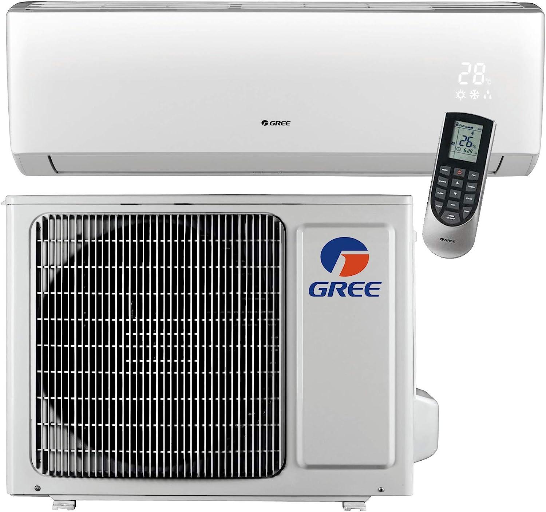 Gree MULTI36CLIV500-36,000 BTU Multi21 Penta-Zone Wall Mount Mini Split Air Conditioner Heat Pump 208-230V 9-9-9-9-9