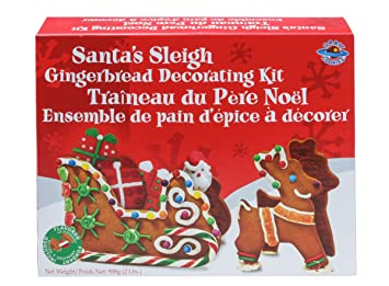 Amazon Com Make Your Own Gingerbread Santa S Sleigh Kit From Orbit