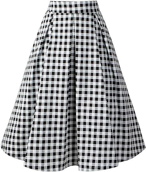 Faldas De Patinadora De Mujer 1950 S Vintage De Cintura Alta ...