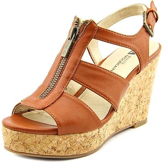 White Mountain Dharma Women US 9.5 Tan Wedge Sandal