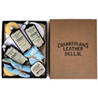 Leather Milk Leather Restoration Kit - Heal & Restore Antique Leather. Cleaner, Conditioner, Water Protectant, Healing…