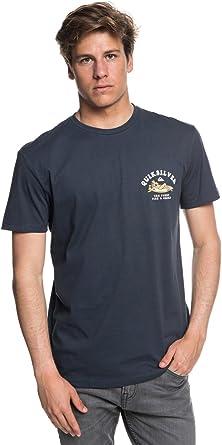 Quiksilver - Camiseta - Hombre - XXL - Azul: Amazon.es: Ropa y accesorios
