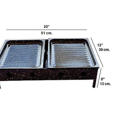 Amazon.com: Bracero de Mesa - Large Size Argentinean Table ...