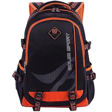 Kaxidy Unisex Vintagev Backpack Canvas Bag Travel Shoulder Bag Bookbag