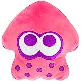 Club Mocchi Mocchi Splatoon 2 Mega Neon Pink Inkling Squid Plush Stuffed Toy