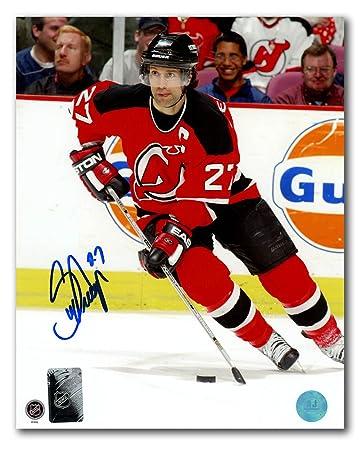 ee2be316e Scott Niedermayer New Jersey Devils Autographed Hockey Captain 8x10 Photo