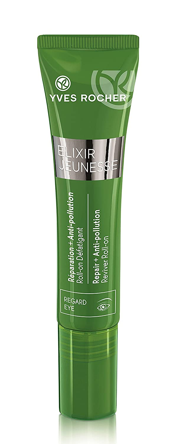 Yves Rocher Elixir Jeunesse Reviving Roll-On for Eyes - Reparation + Anti-pollution 15 ml./0.5 fl.oz