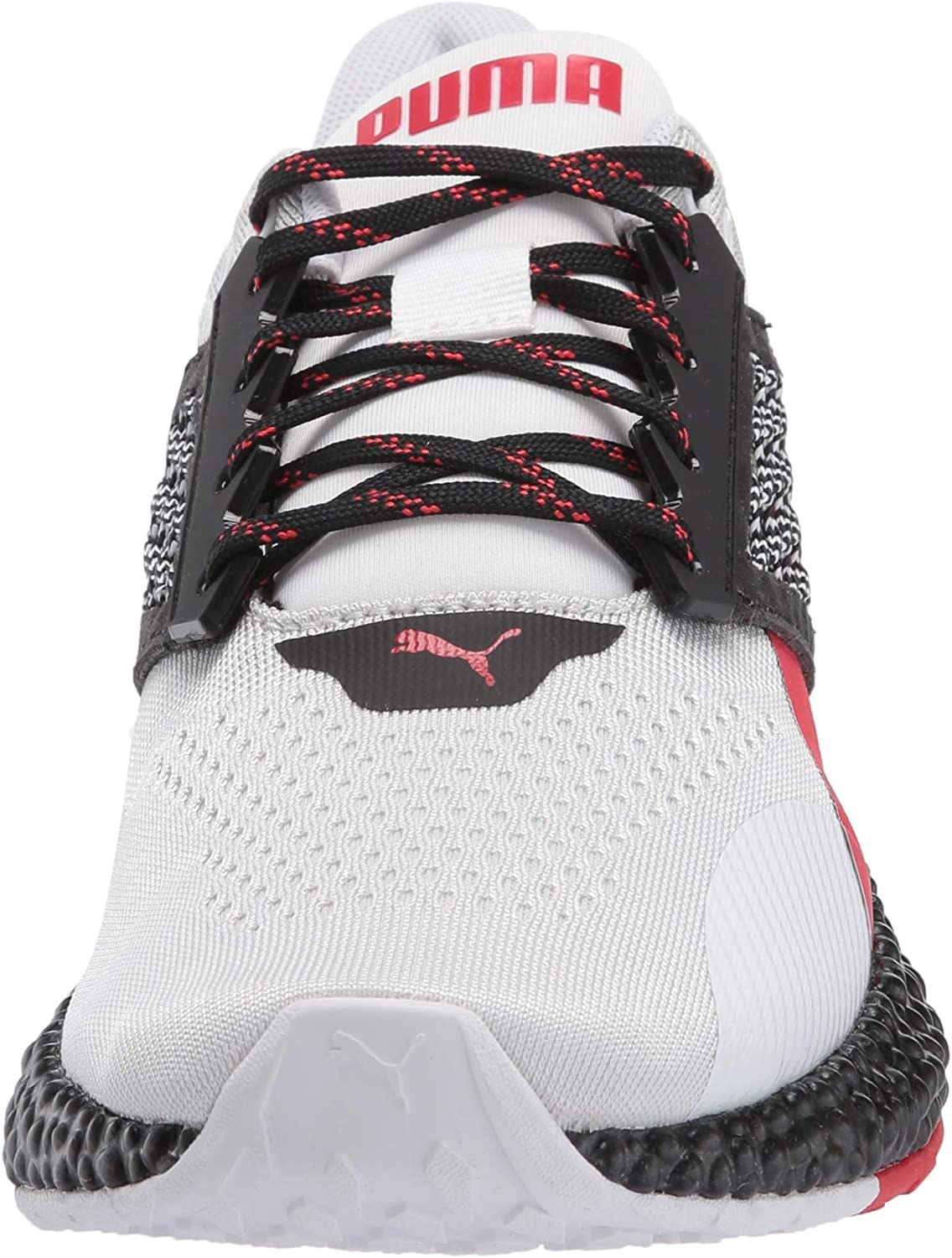 PUMA Men's Hybrid Astro Sneaker Puma White-puma Black-high Risk Red