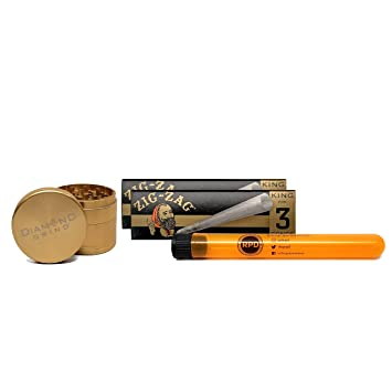 565aca608d36c5 Amazon.com  Zig Zag King Size Pre Rolled Cones (2 Packs)