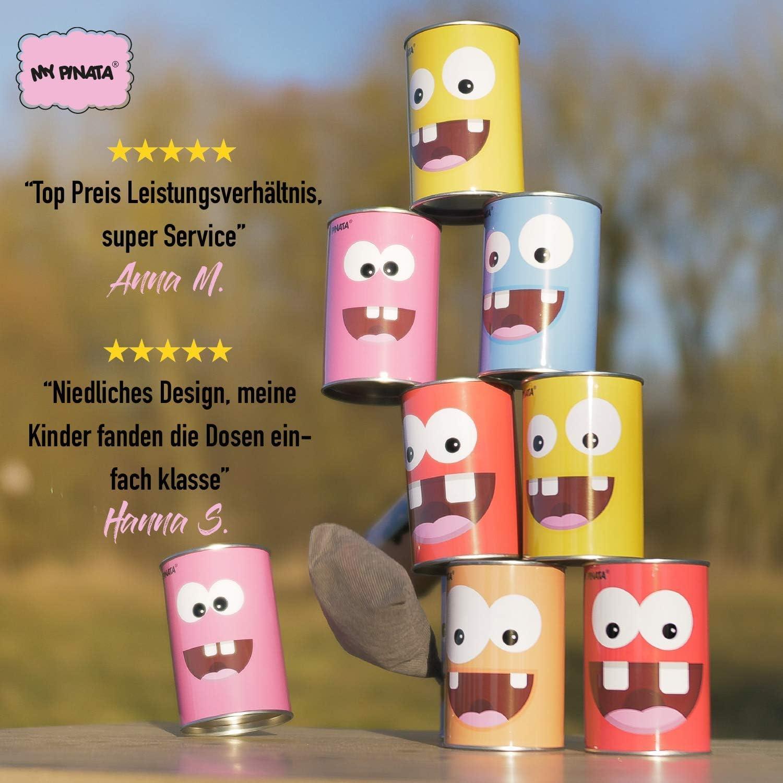 Dosenwerfen My Pinata  Kindergeburtstag Spielzeug Gesellschaftsspiel Kinder