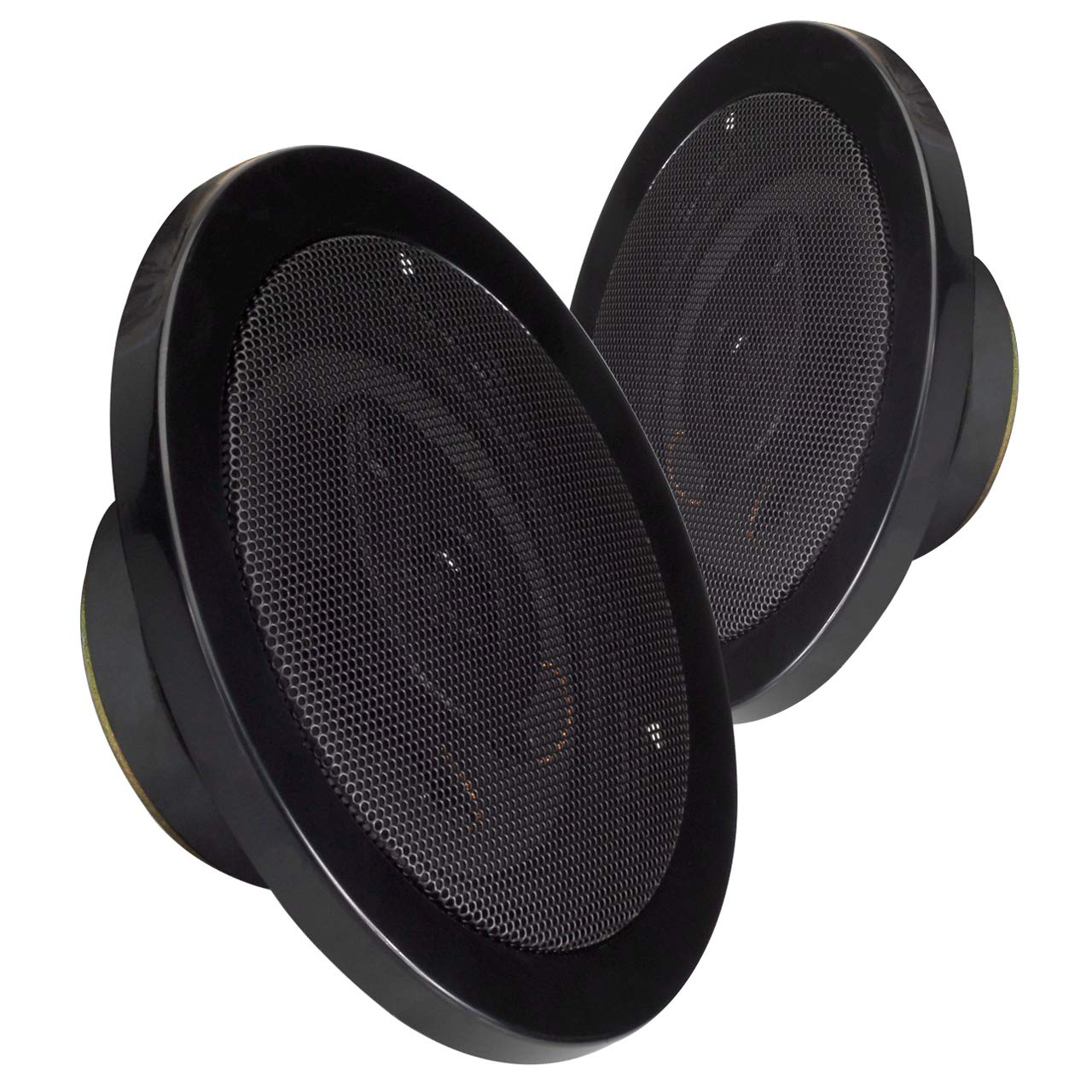 MAGNADYNE LS515C 5-1//4 INCH 3-Way Speakers Sold as a Pair Cream Color