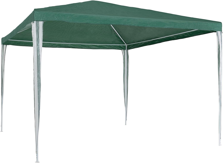 TecTake 800181 - Carpa de Jardín 3x3m, Tienda Impermeable, Cenador ...