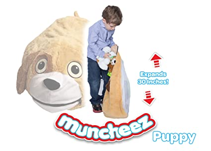 Muncheez Stuffed Animal Toy Storage for Children Puppy - Perfect for Kids - SUPER SOFT  sc 1 st  Amazon.com & Amazon.com: Muncheez Stuffed Animal Toy Storage for Children Puppy ...