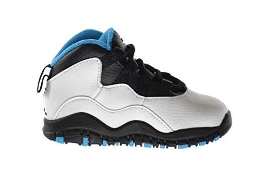 info for 6f15b 8eb92 ... france jordan 10 retro td baby toddlers basketball shoes white dark  powder blue c1907 5c592