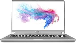 "CUK Creator 17 by MSI 17 Inch Video Editing Notebook (Intel Core i7, 32GB RAM, 1TB NVMe SSD, NVIDIA GeForce RTX 2070 8GB Max-Q, 17.3"" FHD IPS-Level 144Hz, Windows 10 Pro) Professional Laptop Computer"