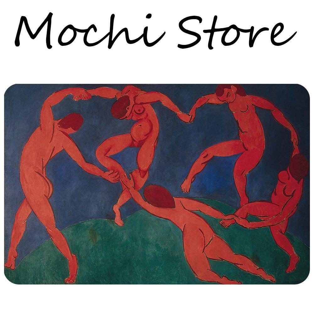 Mochi Fauvism Henri Matisse The Dance art doormat Entrance Floor Mat Funny Doormat Machine Washable Rug Non Slip Mats Bathroom Kitchen Decor Area Rug 30''(L) 18''(W)