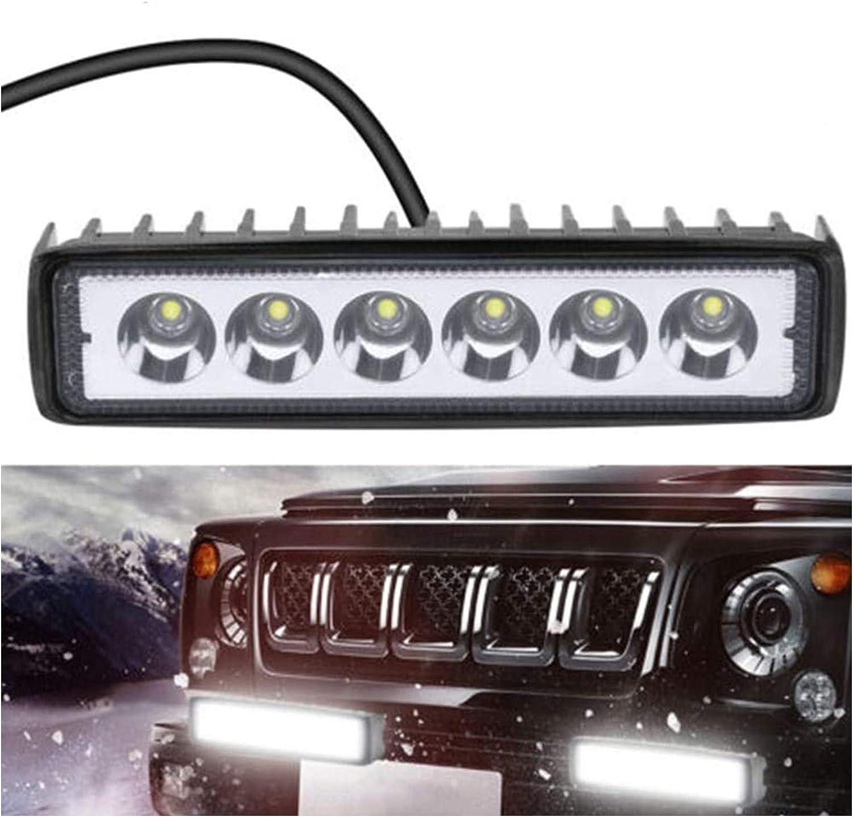 FREEDOH Barre lumi/ère LED Pods LED Light Spot Flood Combo Faisceau Travail Etanche Antibrouillard pour Camion Remorque Pick-Up Bateau VoitureSUV ATV RV Paquet de 2