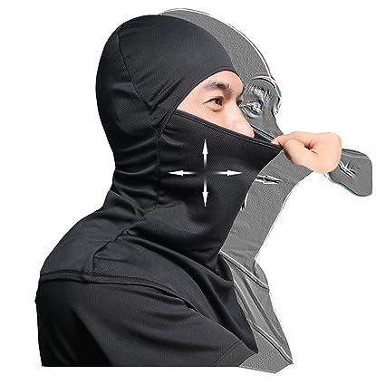 Amazon.com  AIWOLU Balaclava Face Mask for Sun Protection Breathable ... f622778de99