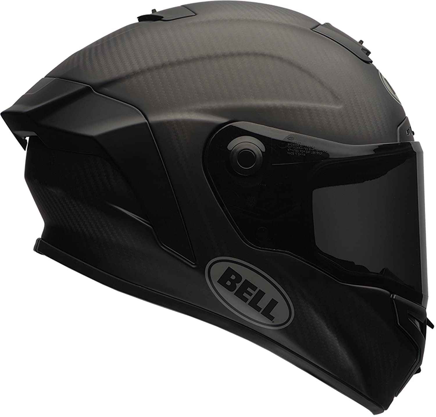 Amazon Bell Race Star Full Face Motorcycle Helmet Solid Matte