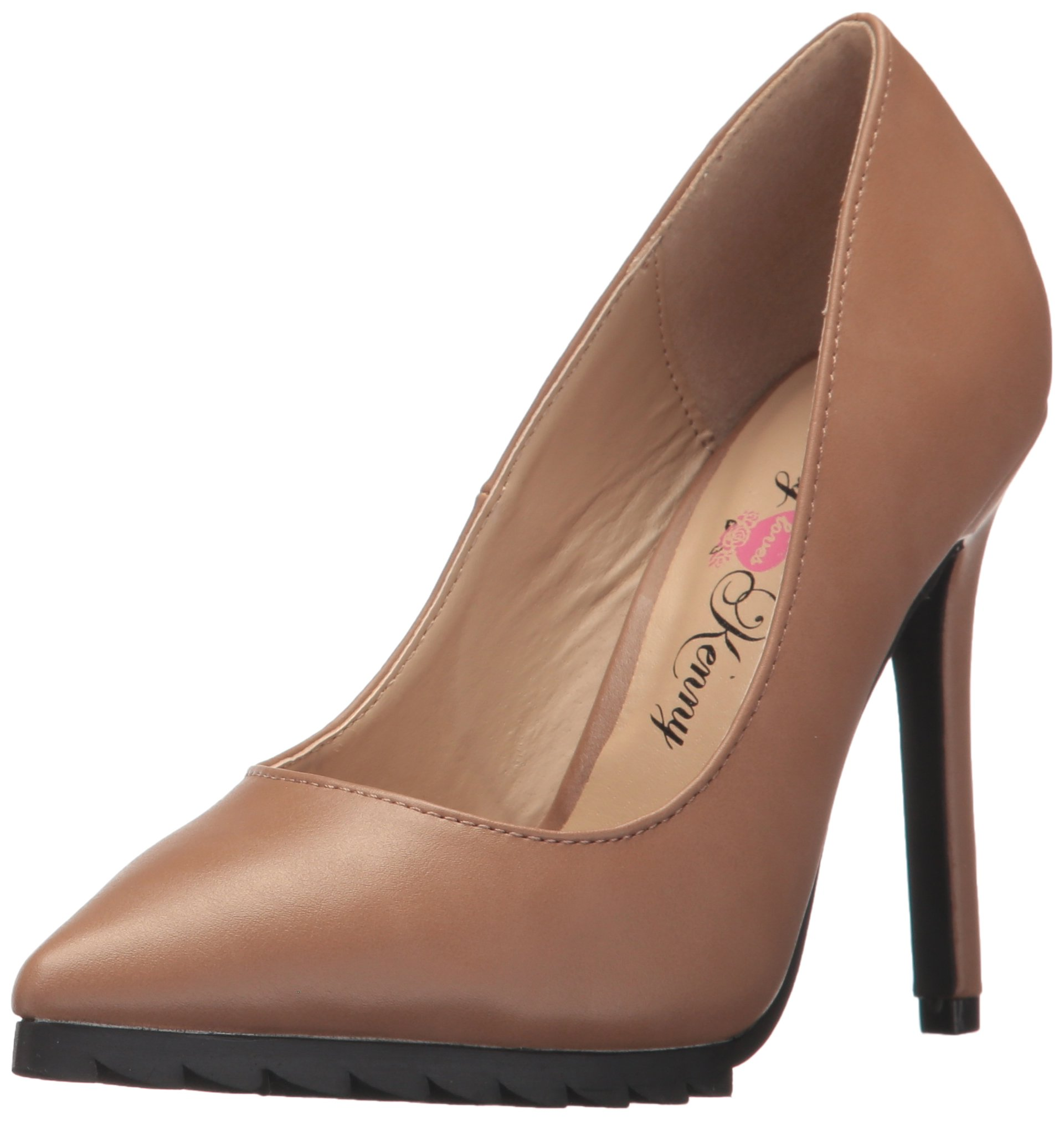 Penny Loves Kenny Women's Opus/Tread Dress Pump, Nude, 13 W US