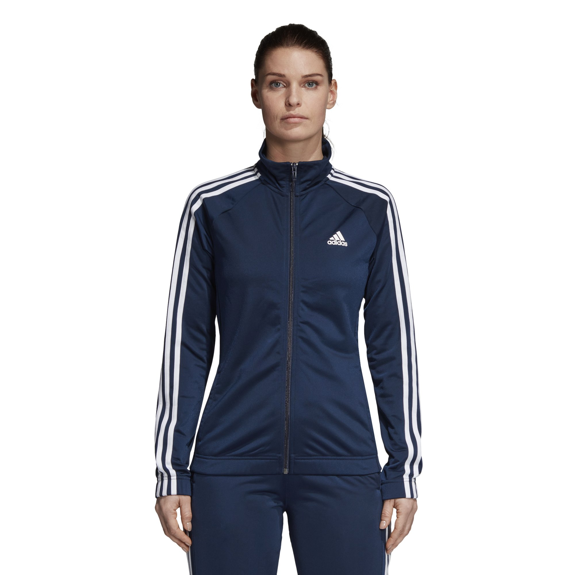 adidas Women's Designed-2-Move Track Jacket, Collegiate Navy/White, X-Small