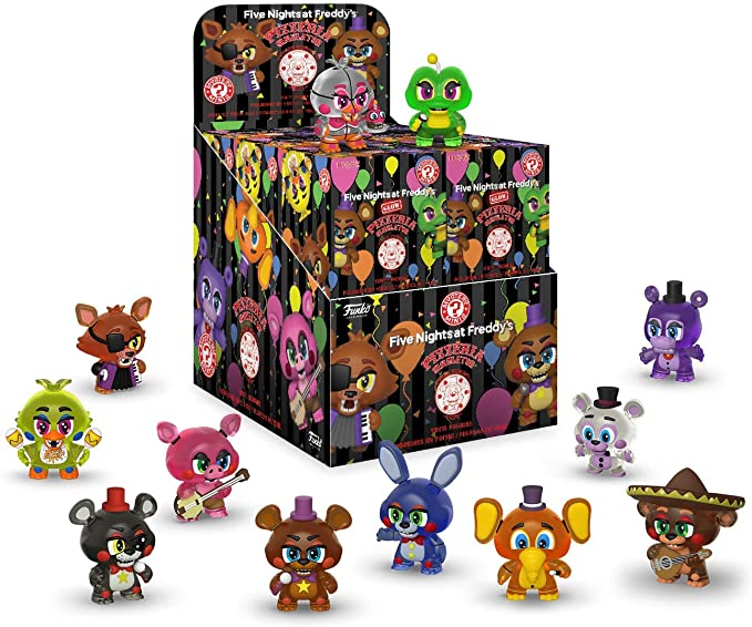 Five Nights at FreddyS Pizzeria Simulator Mystery Minis Figura de Vinilo (1 Random): Amazon.es: Juguetes y juegos