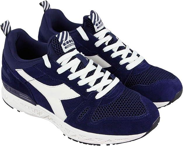 Diadora Titan Reborn Barra - Zapatillas de running para hombre (ante azul), color azul, Azul (azul, (Blue Plum)), 40 EU: Amazon.es: Zapatos y complementos