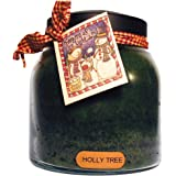 A Cheerful Giver Holly Tree Papa Jar Candle, 34-Ounce