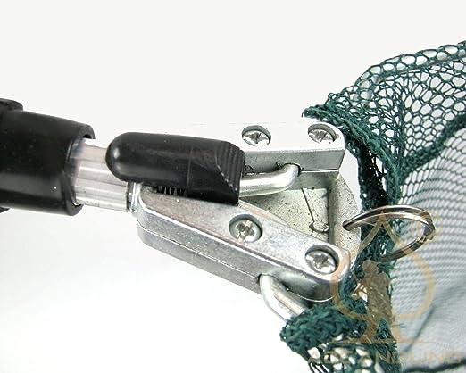 Kescher fischkescher alu angelkescher teich unterfangkescher