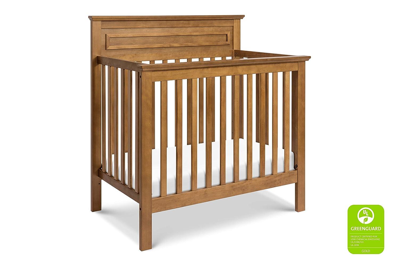 DaVinci Autumn 4-in-1 Convertible Mini Crib in Chestnut Greenguard Gold Certified
