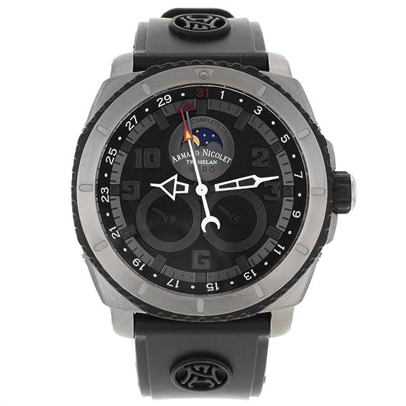 Armand Nicolet T612A - Reloj para hombres color negro: Amazon.es: Relojes