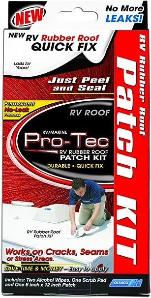 Rv Camco 41461 Pro Tec Rubber Roof No Leak Patch Kit Rainbowlands Lk