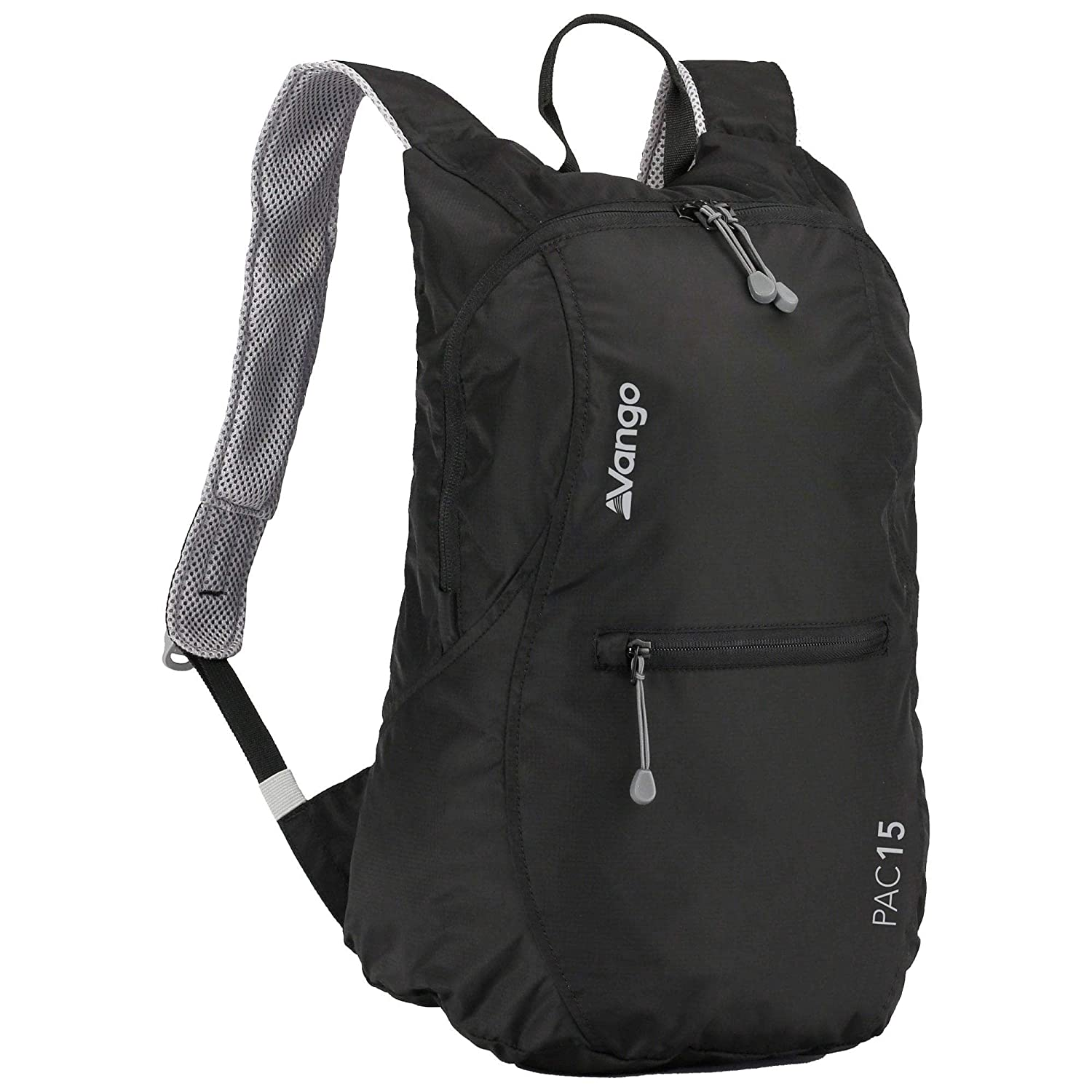 91f62286b39a Vango Lightweight Outdoor Backpack available in Black - 15 Litres   Amazon.co.uk  Sports   Outdoors