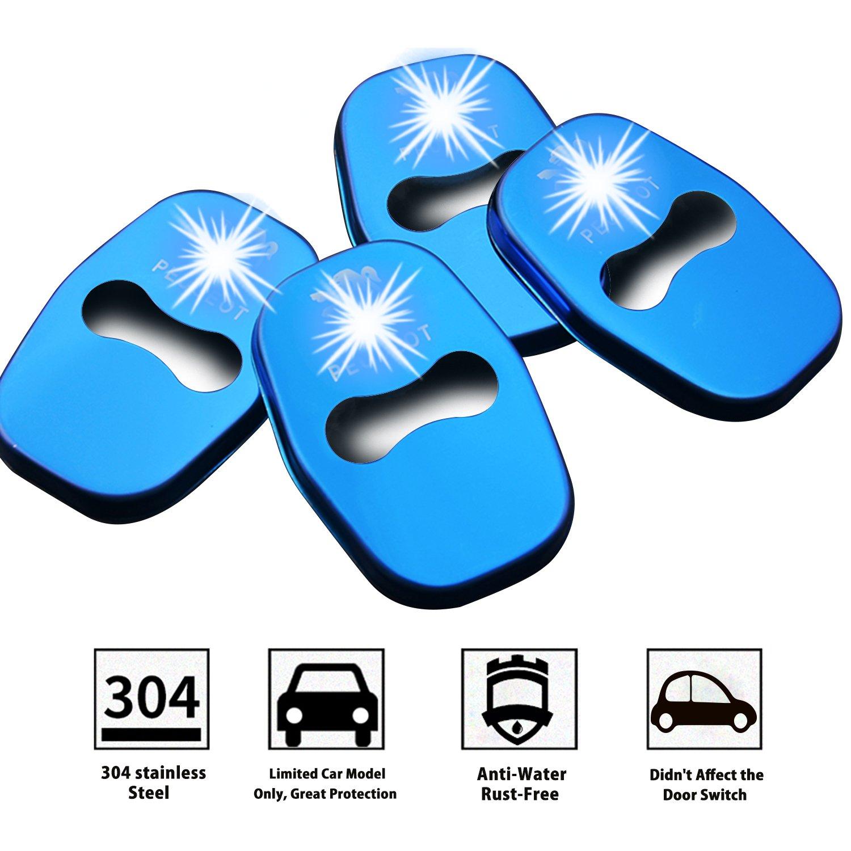 LFOTPP Peugeot001 Coperchio serratura porta auto in acciaio inox Accessori per protezione interna Coperchio serratura LiFan